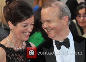 Ian Hislop and guest Galaxy British Book Awards held at the Grosvenor House Hotel - Arrivals London, England - 03.04.09
