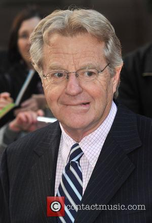 Jerry Springer Galaxy British Book Awards held at the Grosvenor House Hotel - Arrivals. London, England - 03.04.09