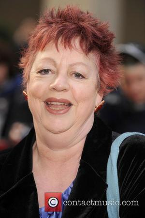 Jo Brand Galaxy British Book Awards held at the Grosvenor House Hotel - Arrivals London, England - 03.04.09