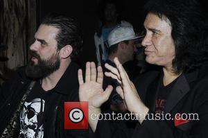 Jason Dussault and Gene Simmons