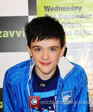 George Sampson signs copies of his new dance dvd 'Access 2 All Areas' at Zavvi London, England - 03.12.08
