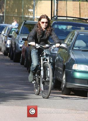 Geri Halliwell ditches Girl Power and opts for Pedal Power as she takes a bike ride in the sunshine. Former...