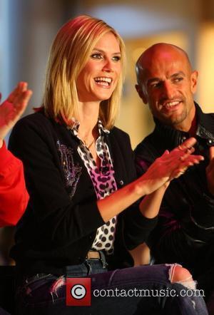 Heidi Klum and Peyman Amin