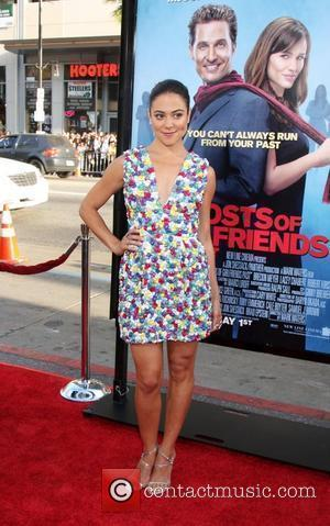 Camille Guaty arriving at the Ghost of Girlfriends Past Premiere at Grauman's Chinese Theater in  Los Angeles, California -...