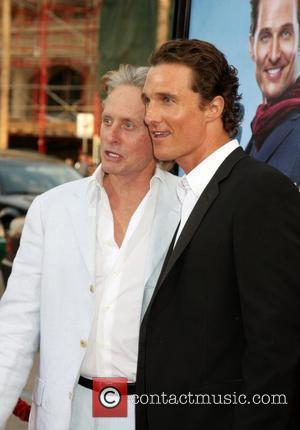 Michael Douglas and Matthew Mcconaughey