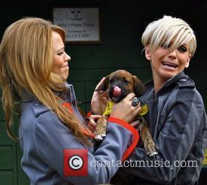 Kimberley Walsh, Girls Aloud and Sarah Harding