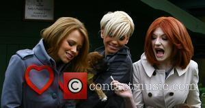 Kimberley Walsh, Girls Aloud, Nicola Roberts and Sarah Harding