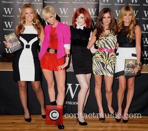 Kimberley Walsh, Nadine Coyle, Nicola Roberts and Sarah Harding