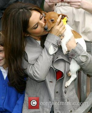 Cheryl Cole of Girls Aloud  at the launch of an innovative, educational partnership between Dogs Trust and Nintendo at...