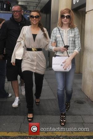 Kimberly Walsh and Nicola Roberts
