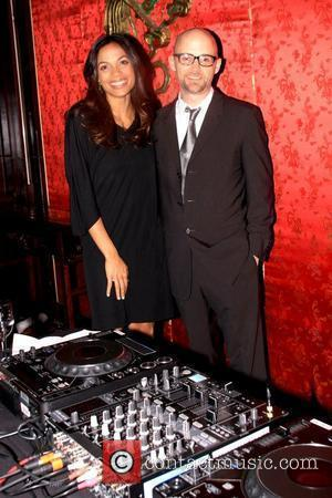 Rosario Dawson and Moby