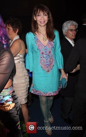 Illeana Douglas The 20th Annual GLAAD Media Awards held at the Nokia Theater - Inside Los Angeles, California - 18.04.09