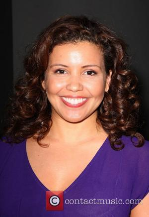 Justina Machado The 20th Annual GLAAD Media Awards held at the Nokia Theater - Outside  Los Angeles, California -...