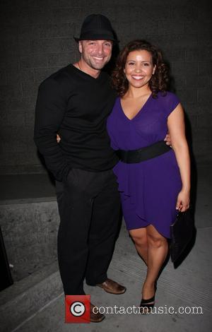 Justina Machado and guest The 20th Annual GLAAD Media Awards held at the Nokia Theater - Outside  Los Angeles,...