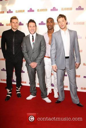 Lee Ryan, Antony Costa and Simon Webbe