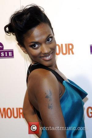 Freema Agyeman The Glamour Awards 2009 held at Berkeley Square Gardens London, England - 02.06.09