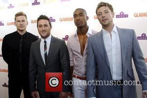 Lee Ryan, Antony Costa, Duncan James and Simon Webbe