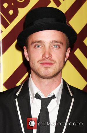 Aaron Paul  arriving at the HBO Post Golden Globe Party at Circa 55, at the Beverly Hilton Hotel...