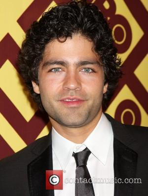 Adrian Grenier arriving at the HBO Post Golden Globe Party at Circa 55, at the Beverly Hilton Hotel  Beverly...