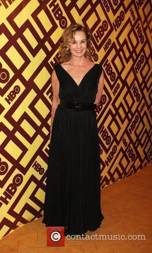 Jessica Lange arriving at the HBO Post Golden Globe Party at Circa 55, at the Beverly Hilton Hotel  Beverly...