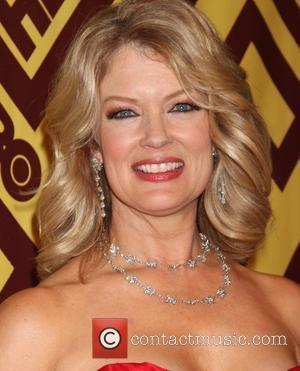 Mary Hart arriving at the HBO Post Golden Globe Party at Circa 55, at the Beverly Hilton Hotel  Beverly...