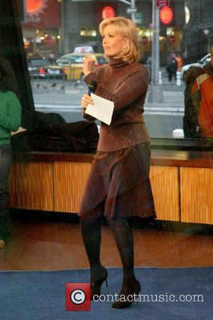 Diane Sawyer on ABC's 'Good Morning America' in Times Square New York City, USA - 23.01.09