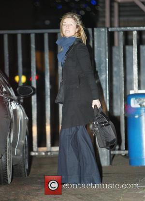 Fiona Phillips leaving the 'GMTV' studios after speaking openly about her parents' Alzheimer's disease London, England - 12.01.09