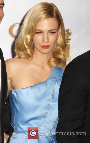 January Jones 66th Annual Golden Globe Awards 2008 - Press Room held at the Beverly Hilton Hotel Los Angeles, California...
