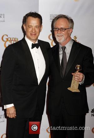 Tom Hanks, Gary Goetzman, Beverly Hilton Hotel
