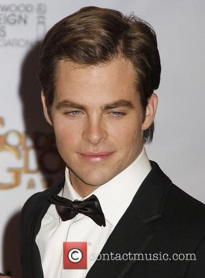 Chris Pine 66th Annual Golden Globe Awards 2008 - Press Room held at the Beverly Hilton Hotel Los Angeles, California...