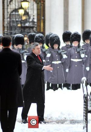 Gordon Brown Chinese PM Wen Jiabao meets British PM Gordon Brown at 10 Downing Street London, England - 02.02.09