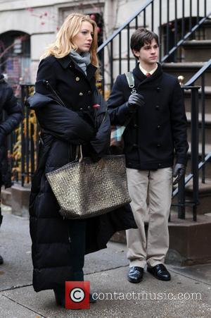 Blake Lively and Connor Paolo