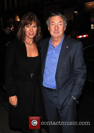 Nick Mason and Guest The Spectator and GQ 200th Anniversary Party held at Sir Rocco Forte's Brown's Hotel London, England...