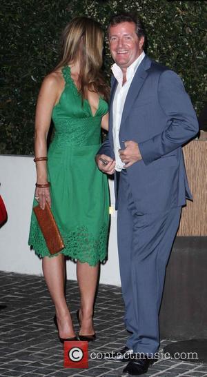 Celia Walden, Piers Morgan The GQ Awards held at Cecconi's Restaurant Hollywood, Los Angeles - 06.04.09