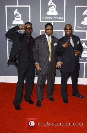 Boyz II Men 51st Annual Grammy Awards held at the Staples Center - Red carpet arrivals Los Angeles, California -...