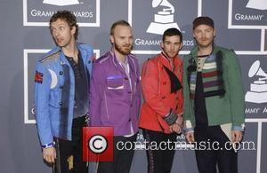 Chris Martin and Coldplay 51st Annual Grammy Awards held at the Staples Center - Red carpet arrivals Los Angeles, California...