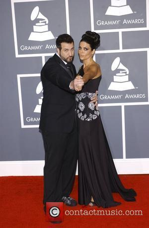 Joey Fatone and Lisa Rinna 51st Annual Grammy Awards held at the Staples Center - Red carpet arrivals Los Angeles,...