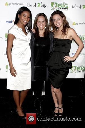 Gabrielle Union, Guest and Josie Maran