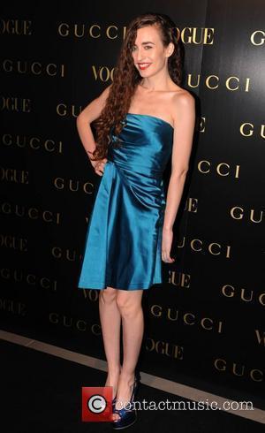 Elizabeth Jagger  Vogue Gucci Dinner held at Saatchi Gallery - Arrivals London, England - 01.04.09