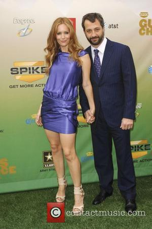 Leslie Mann and Judd Apatow Spike TV's Guys Choice Awards held at Sony Studios Los Angeles, California - 30.05.09
