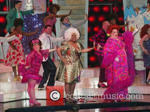 Marissa Jaret Winokur, Charlotte Crossley and Harvey Fierstein The Final Performance of the Broadway Musical 'Hairspray' at the Neil Simon...