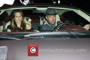 Daisy Fuentes and Matt Goss leaving Elton John's Birthday party at Hamburger Hamlet Los Angeles, California - 27.03.09
