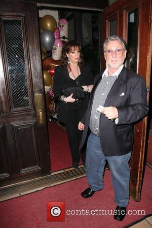 Jackie Collins leaving Elton John's Birthday party at Hamburger Hamlet Los Angeles, California - 27.03.09