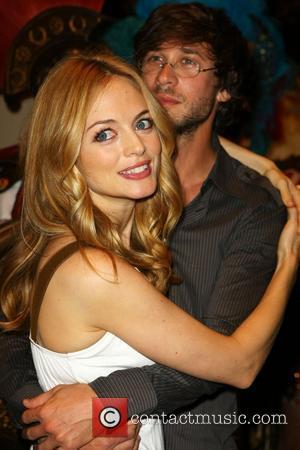 Heather Graham and Boyfriend Yaniv Raz