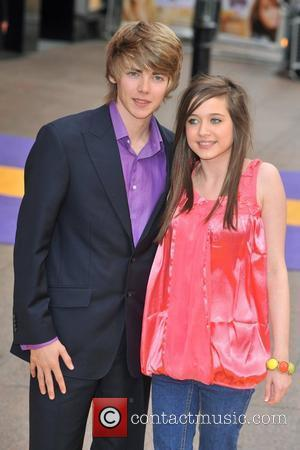 Madeline Duggan and Thomas Law  Hannah Montana UK premiere held at the Odeon West End - Arrivals. London, England...
