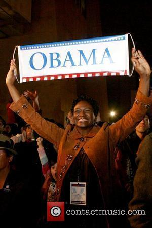 Barack Obama Supporters, Adam Clayton and Barack Obama