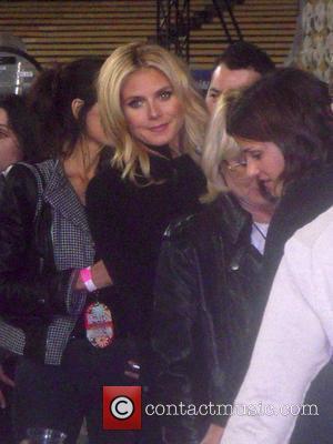 Heidi Klum and Madonna