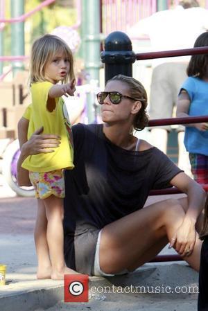 Heidi Klum and her daughter Helene