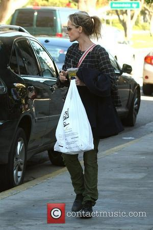 Helen Hunt seen leaving her yoga class in Brentwood. Los Angeles, California - 01.12.08