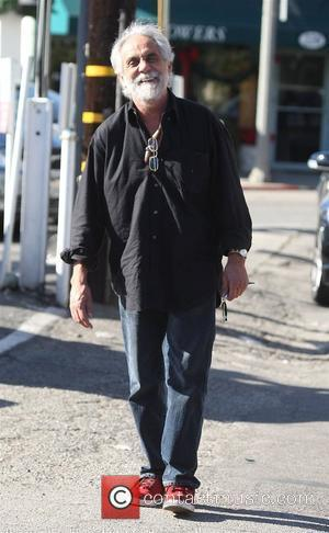 Tommy Chong leaving the Country Mart in Brentwood Los Angeles, California - 09.12.08
